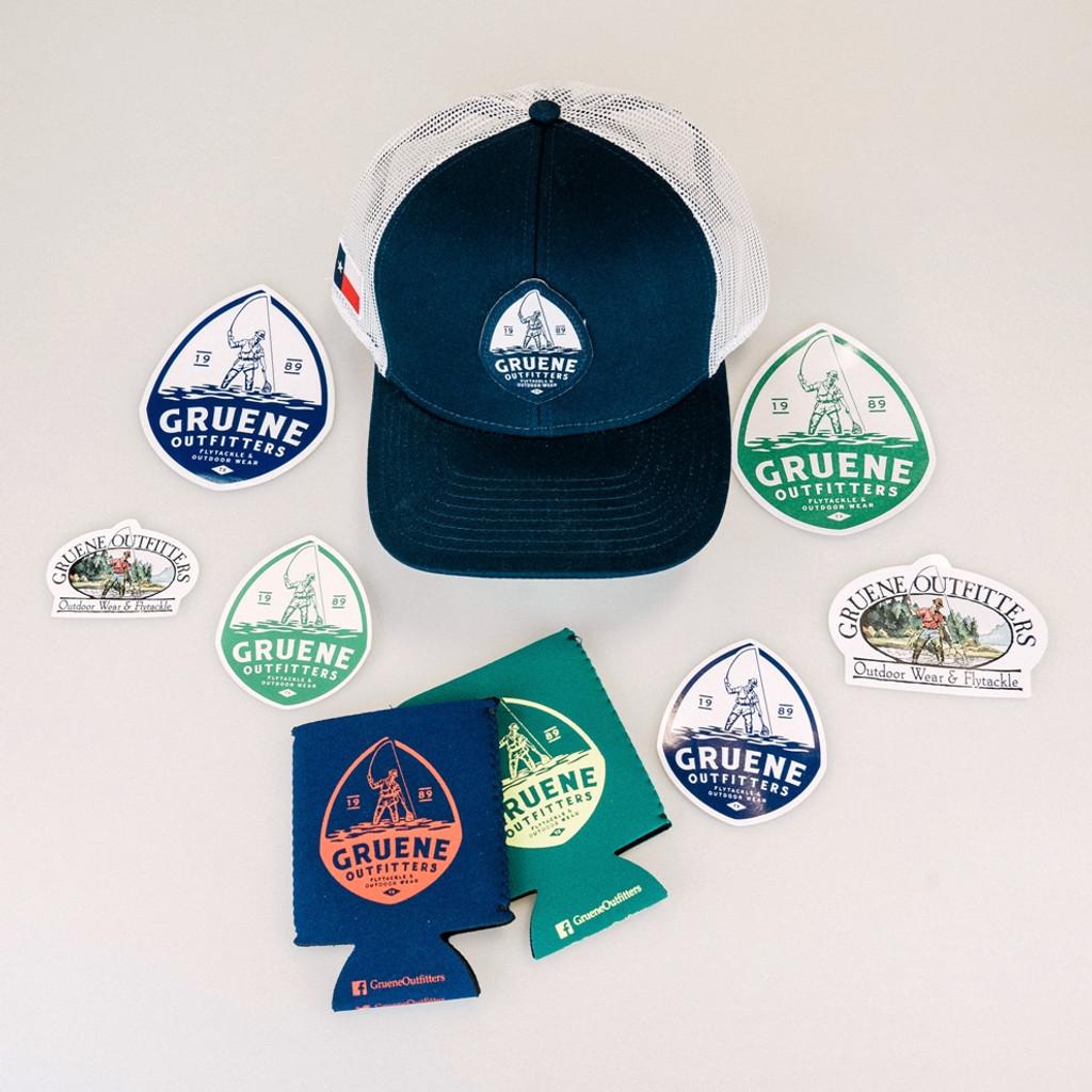 GO Cap & Sticker Package