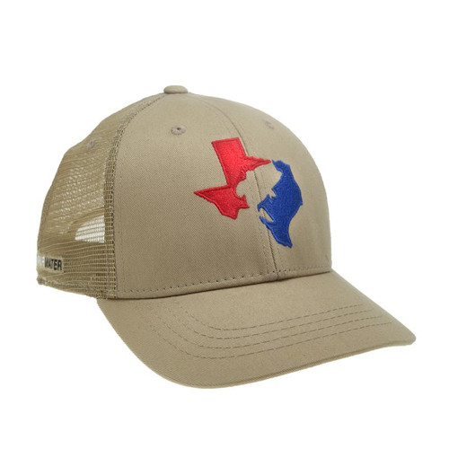 Texas Large mouth Hat- Tan
