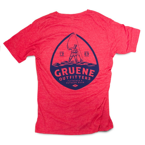 G.O. Offshore Marker Logo Tee - Red