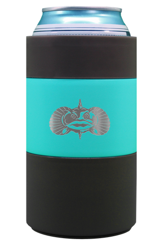 Non-Tipping Can Cooler - Teal