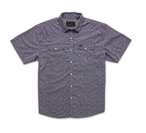 H Bar B Snapshirt - Little Agave Night Blue