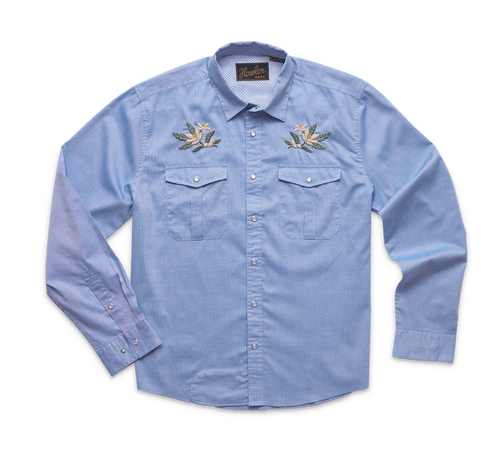 Gaucho Snapshirt - Orange Blossom