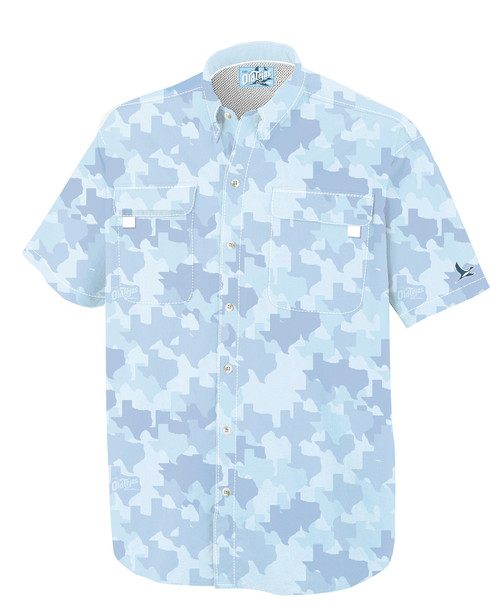 Gulf Blue Texas Field Shirt