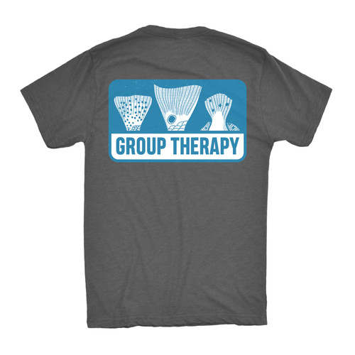 Group Therapy Tee - Charcoal