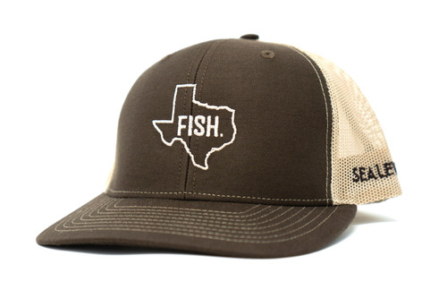 Fish Texas Hat - Brown