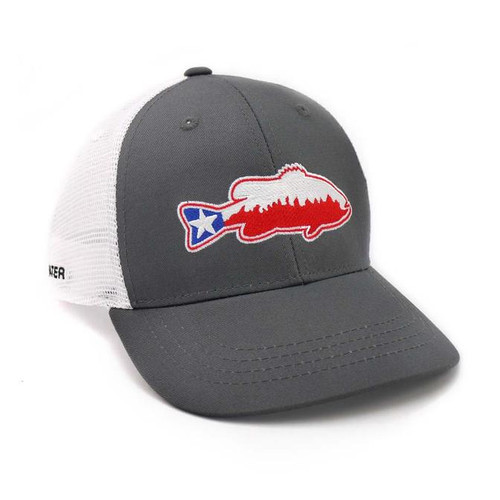 Texas Bass Hat - Grey