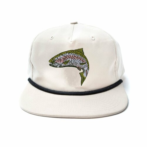 Duck Camp Trout Hat - White