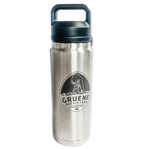 G.O. Logo Rambler 26oz Bottle with Chug Cap- Stainless Steel