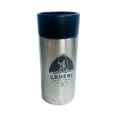 G.O Logo Rambler 12oz Bottle with HotShot Cap - Stainless Steel