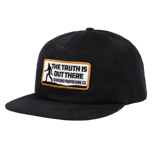 Truth Seeker Hat- Black