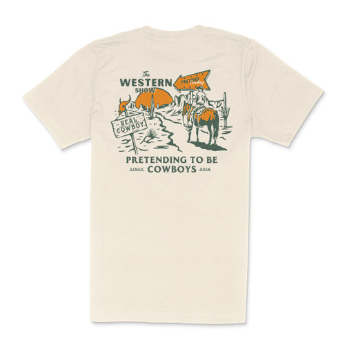 The Western Show Tee- Trail Dust