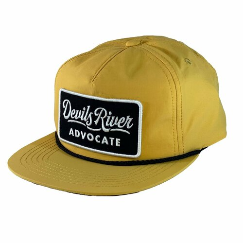 Texas Fly Co Devil's River Advocate Rope Hat- Mustard