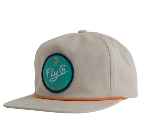 Texas Fly Co Patch Cap- Stone