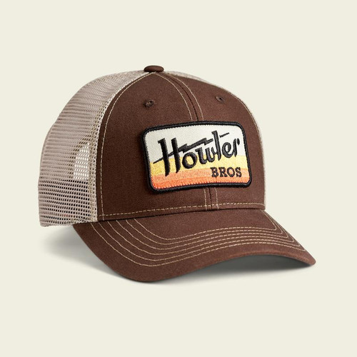 Howler Electric Standard Hat- Brown/ Khaki