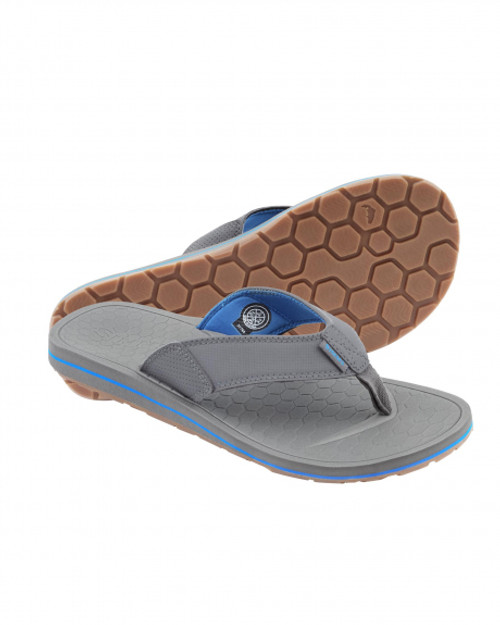 Simms Downshore Flip Flop- Pewter