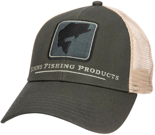Simms Bass Icon Trucker Hat - Foliage