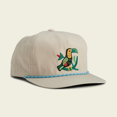 Howler Toucan Unstructured Snapback- Off White