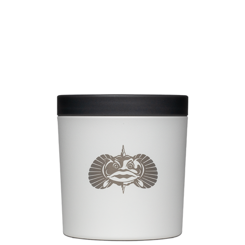 Toadfish The Anchor Non-Tipping Cup Holder - White