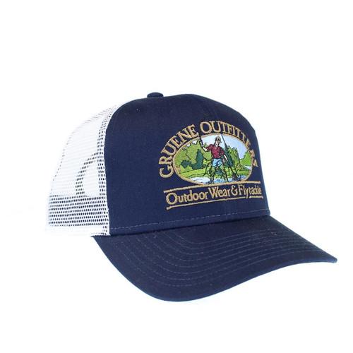 G.O. Mesh Trucker Cap - Navy