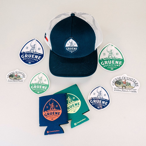 GO Cap & Sticker Package