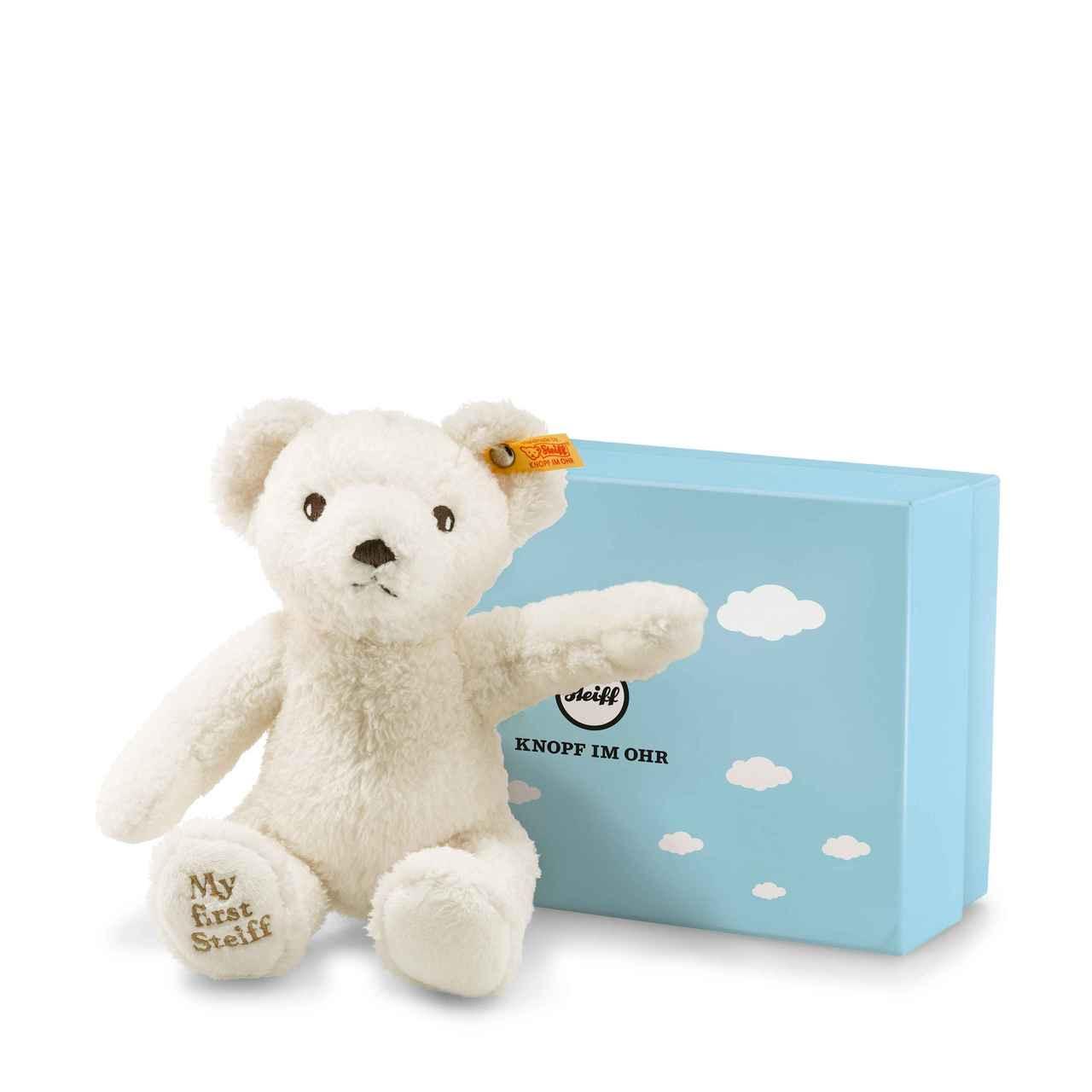 77dae003147 My First Steiff Teddy Bear Cream in Gift Box