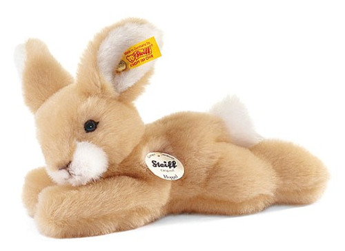 Steiff Little Friend HOPPEL Blond Lying Rabbit