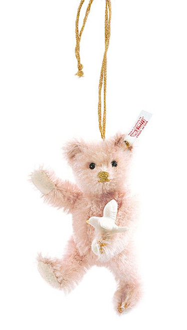 Steiff Lladro mohair Ornament Teddy bear 2008