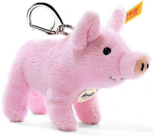 Steiff Pig Keyring