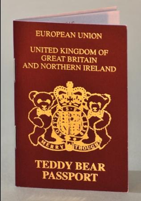 Merrythought Teddy Bear Passport