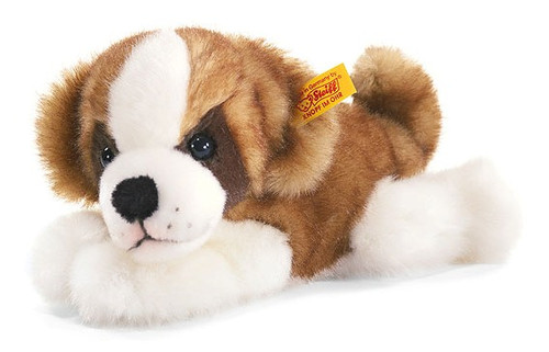 Steiff's Little Friend Saint Bernard Puppy Benny
