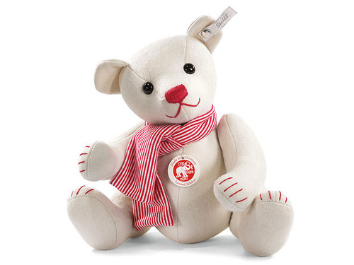 Steiff Felt Teddy Bear - White