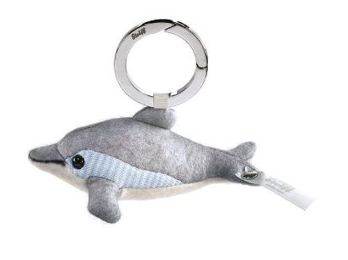 Steiff Selection Felt Dolphin Keyring