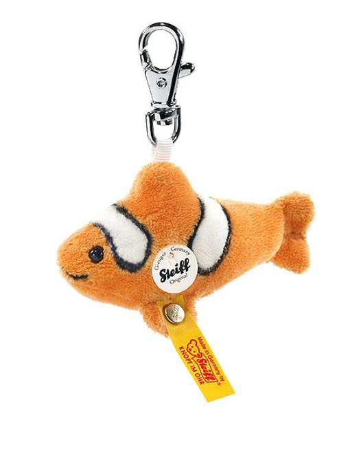 Steiff Flossy Clownfish Keyring