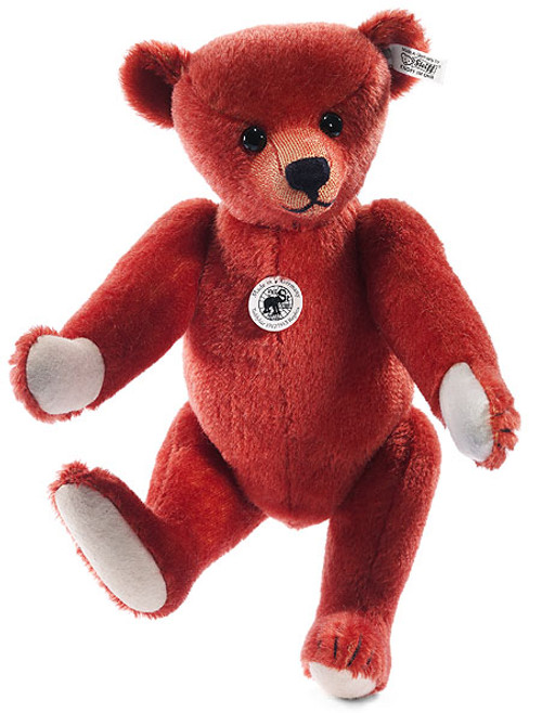 Steiff Red Teddy Bear Replica 1912/1913