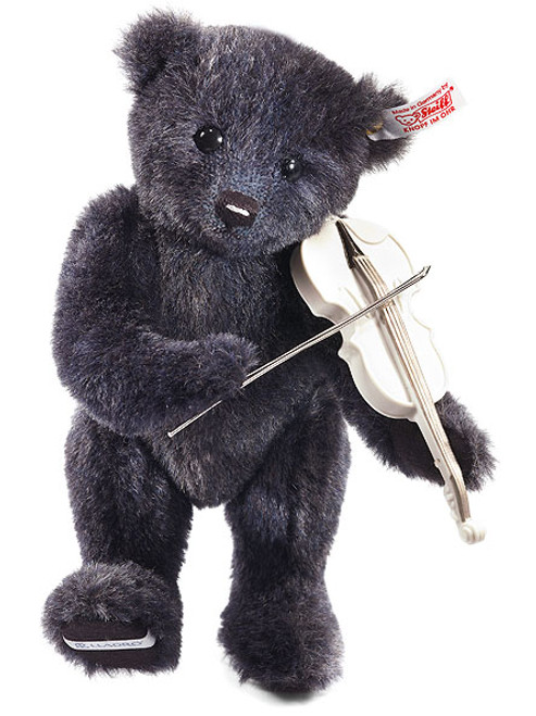 Steiff Lladro Violin Player Teddy Bear - In Stock