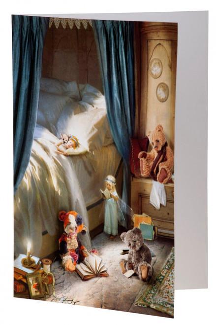 Charlie Bears Card Bedtime Story