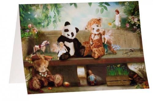 Charlie Bears Card The Secret Garden