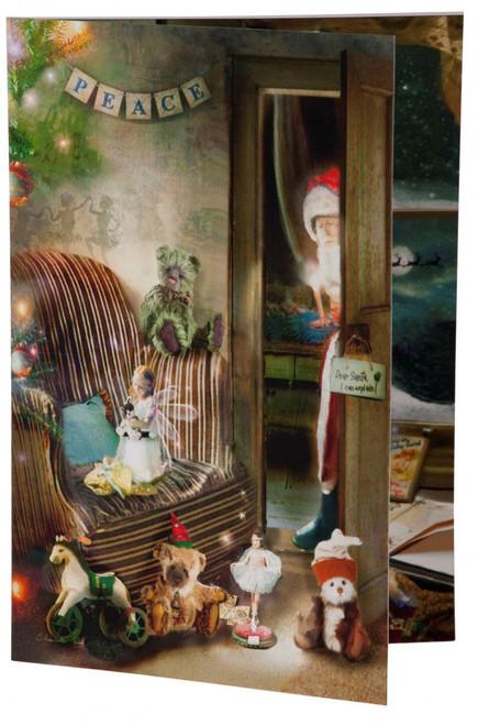 Charlie Bears Card Christmas Wishes