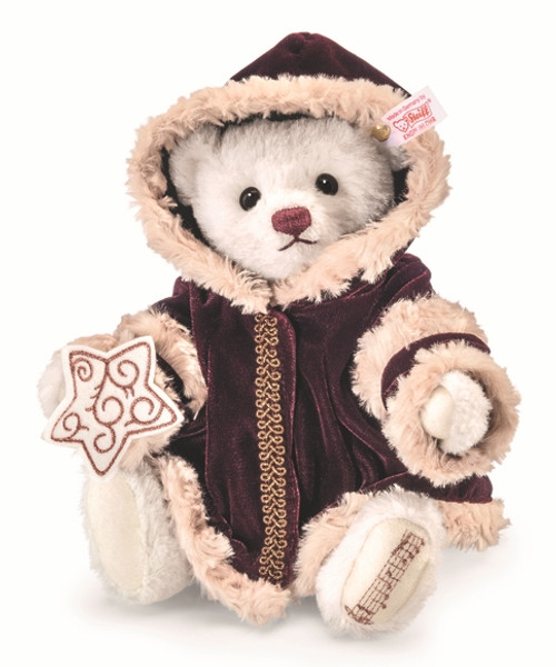 Steiff Christmas Musical Teddy Bear
