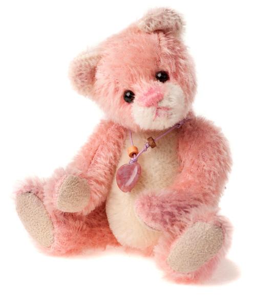 Charlie Bears Mini Mohair Keyring Balletshoe