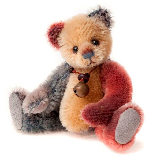 Charlie Bears Mini Mohair Keyring Flipflop