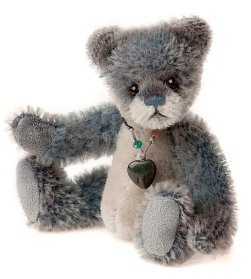Charlie Bears Mini Mohair Keyring Iceskate