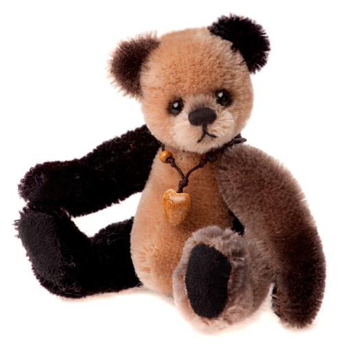 Charlie Bears Mini Mohair Keyring Loafer