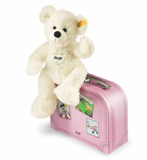 Steiff Lotte Teddy bear in suitcase - 111563
