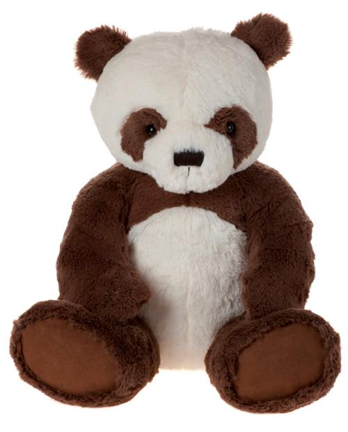 My First Charlie Bear Panda Brown Large