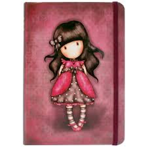 Santoro Gorjuss Hardcover Notebook Ladybird