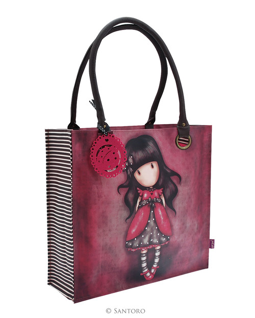 Gorjuss Large shopping Bag - Ladybird