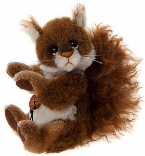 Charlie Bears Minimo Scampeteer Squirrel - MM645317