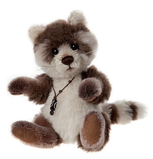 Charlie Bears Minimo Pitter Patter Racoon