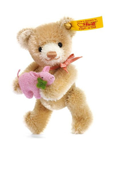Steiff Mini Teddy Bear Lucky Charm